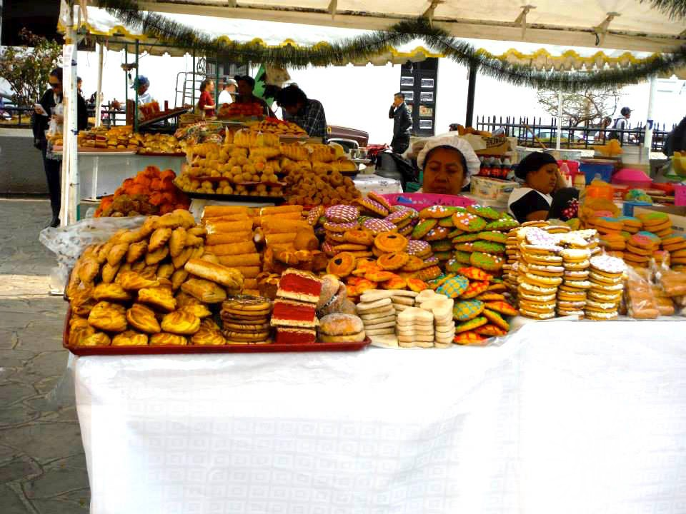 gateaux gastronomie mexicaine san cristobal