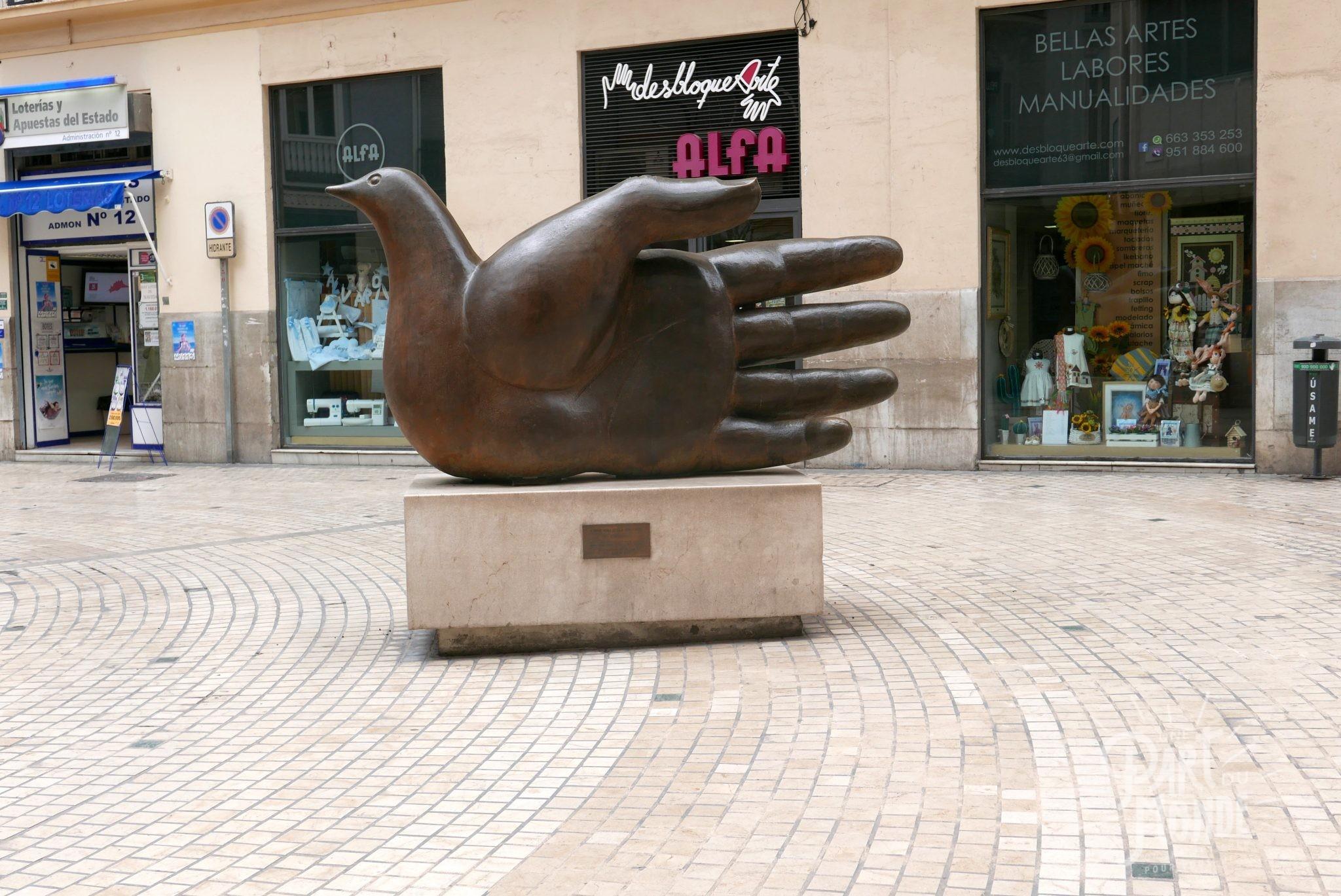 sculpture rue malaga