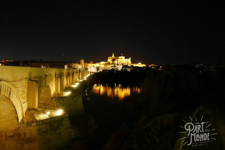 pont rome nuit cordoue