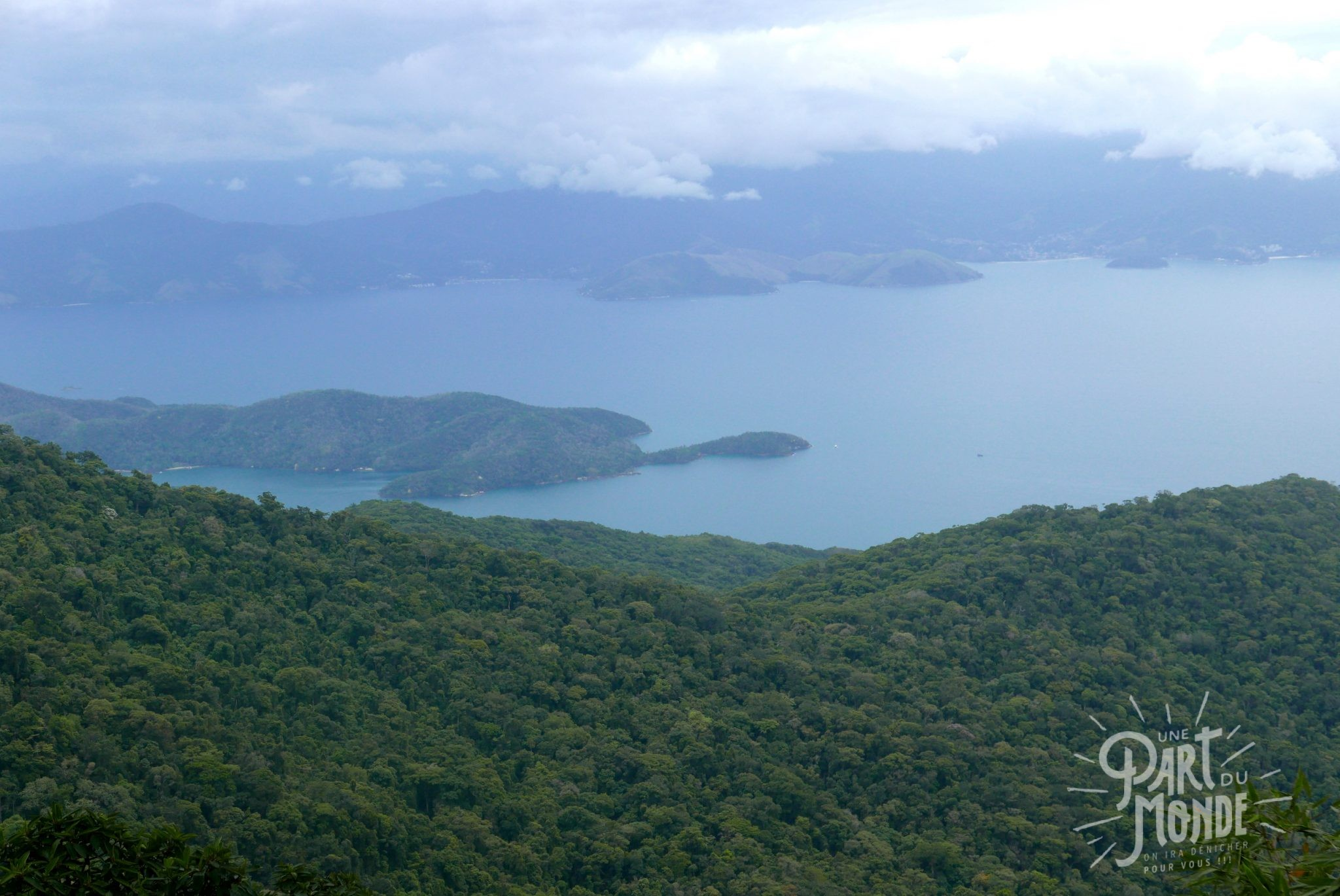 vue pic papagayo ilha grande
