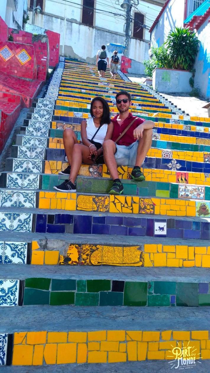 visiter rio de janeiro en 4 jours selaron couple