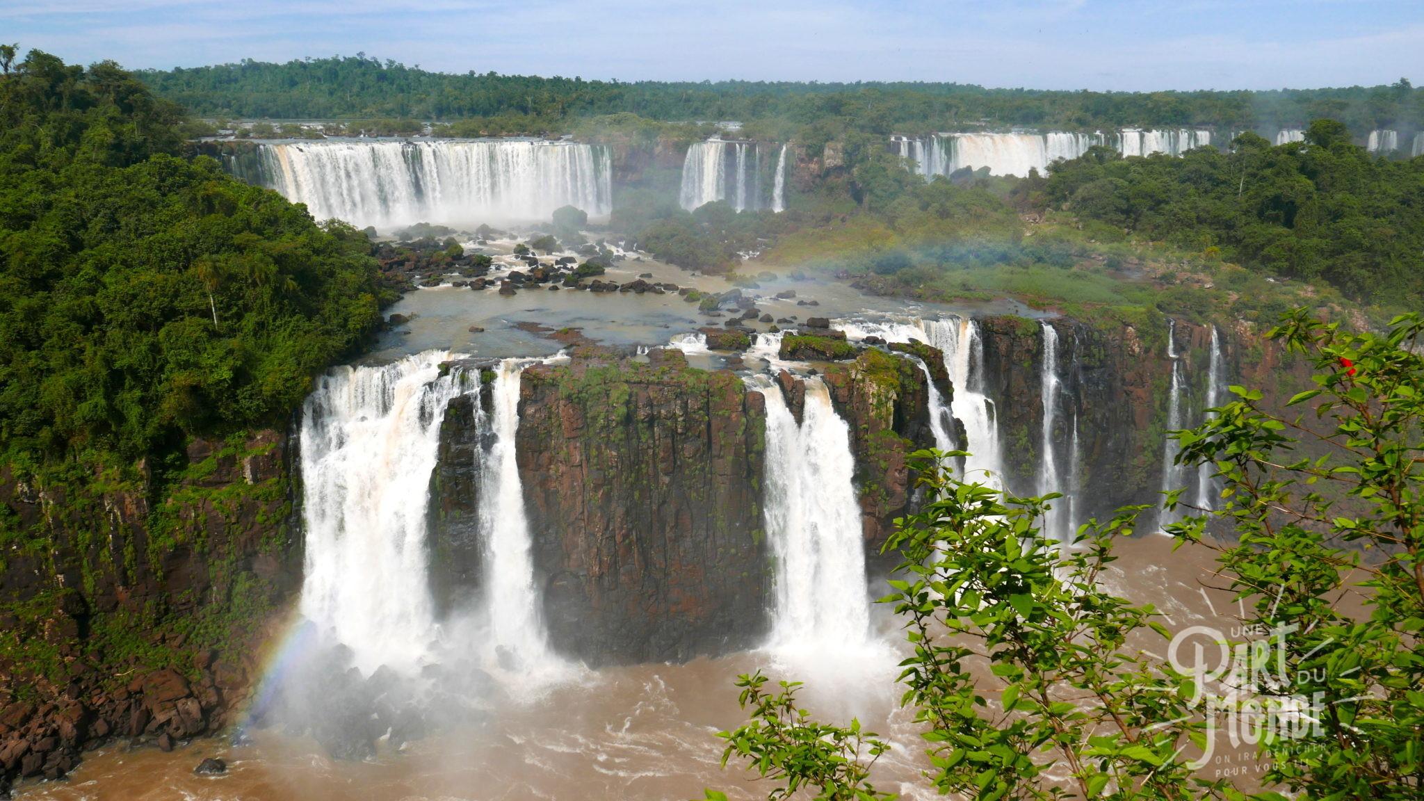 chutes d'iguazu côté brésilien2
