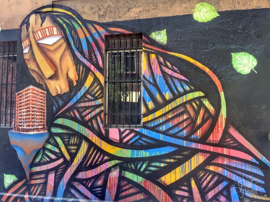 street art 4 santiago du chili