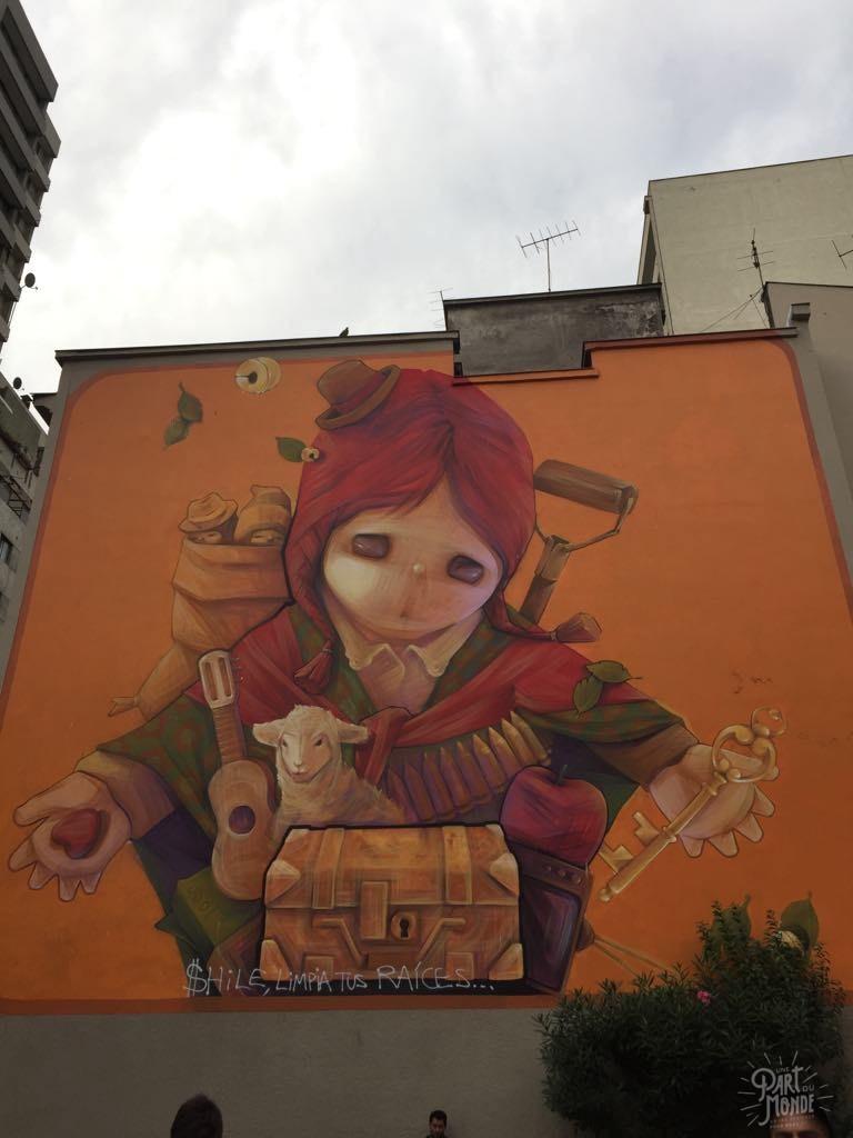 street art inti santiago du chili