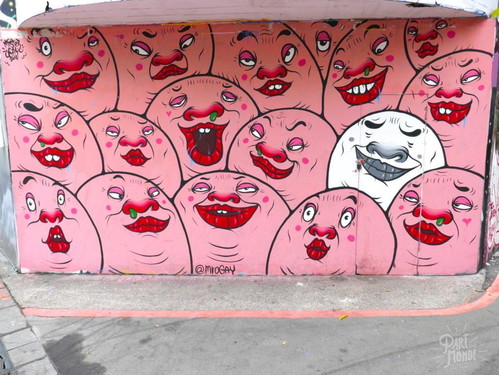 street art ximending taipei