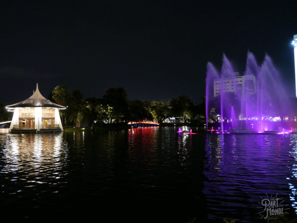 taichung park illuminé