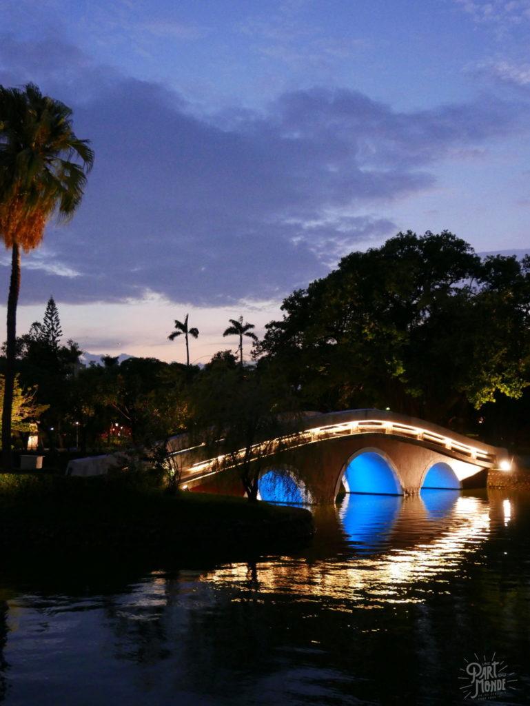 taichung park nuit