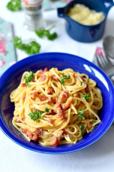 Spaghettis-carbonara-recette