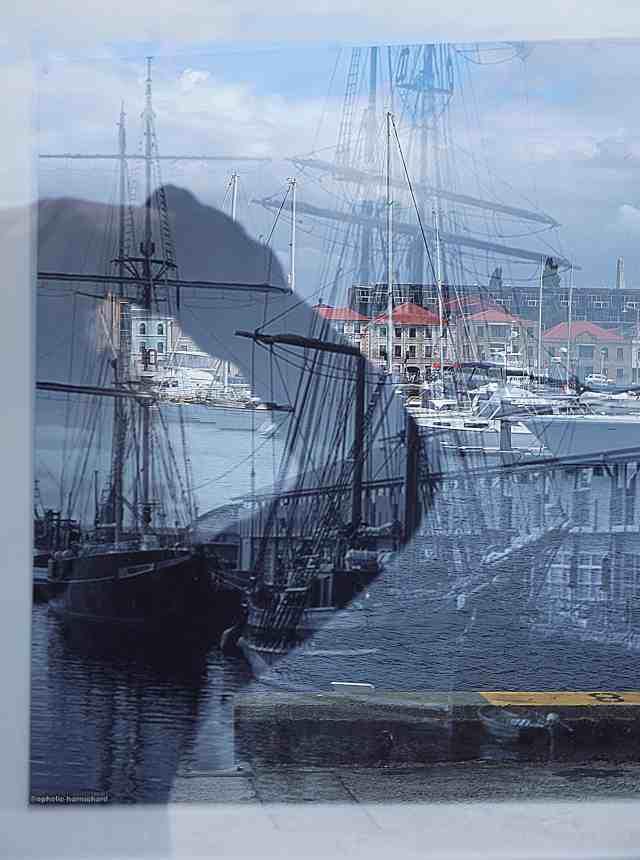 Artistic photography - reflection, Hobart