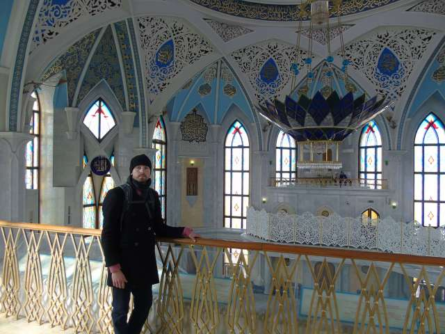 Portrait_traveller_mosque_Kazan_Russia