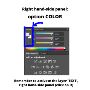 Change-color-of-text-How-to-watermark-in-Photoshop