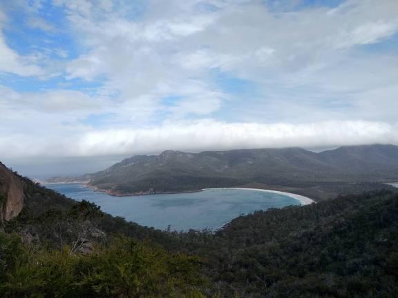 Tasmania east coast road trip - Wineglass bay