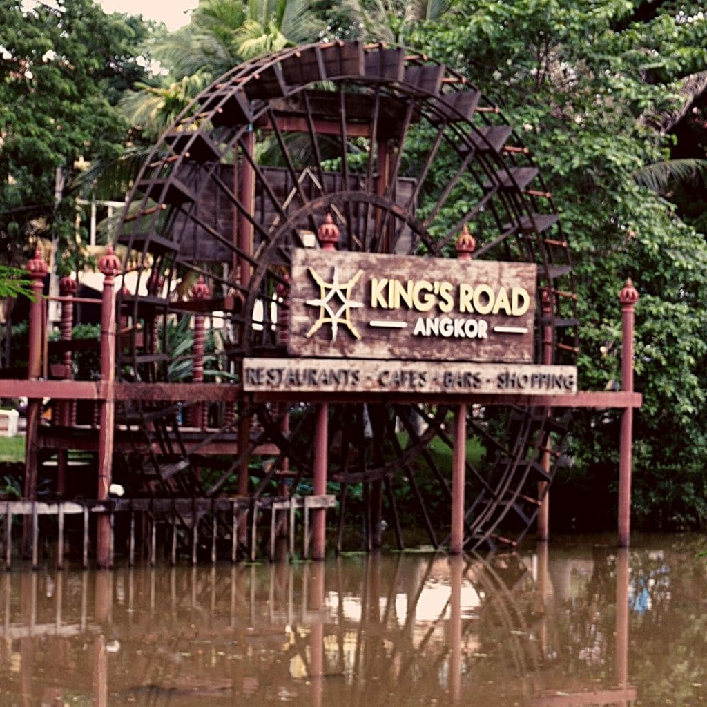 King s road wheel - things to do Siem Reap
