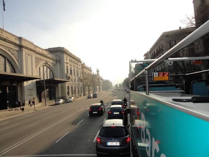 Hop on-Hop off bus in Barcelona