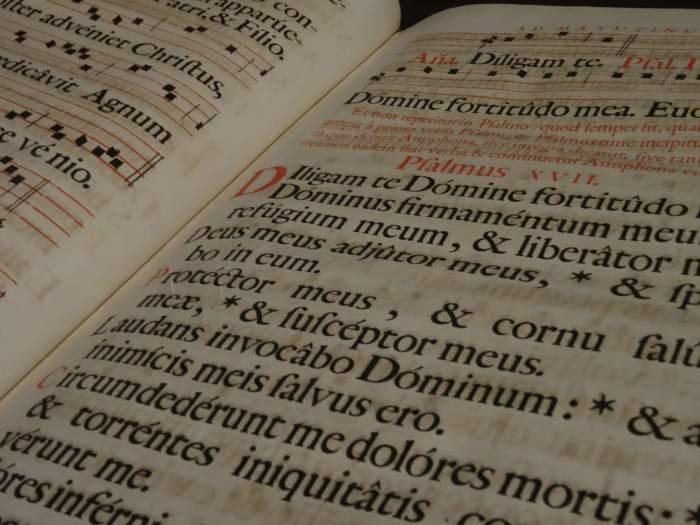 Een van de oudere boeken uit het Plantin Moretus museum, een wat oudere blogpost om het eens zo te zeggen