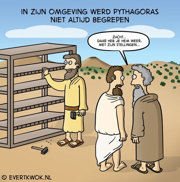 Strip van Pythagoras