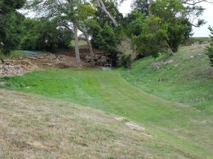 Ingang van de grot van Altamira