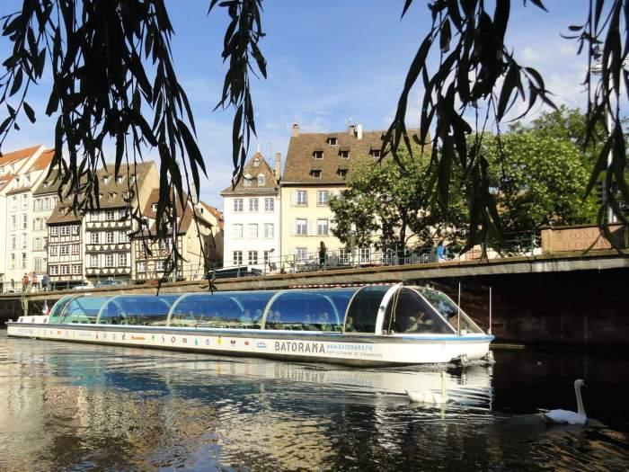 Rondvaartboot in Straatsburg