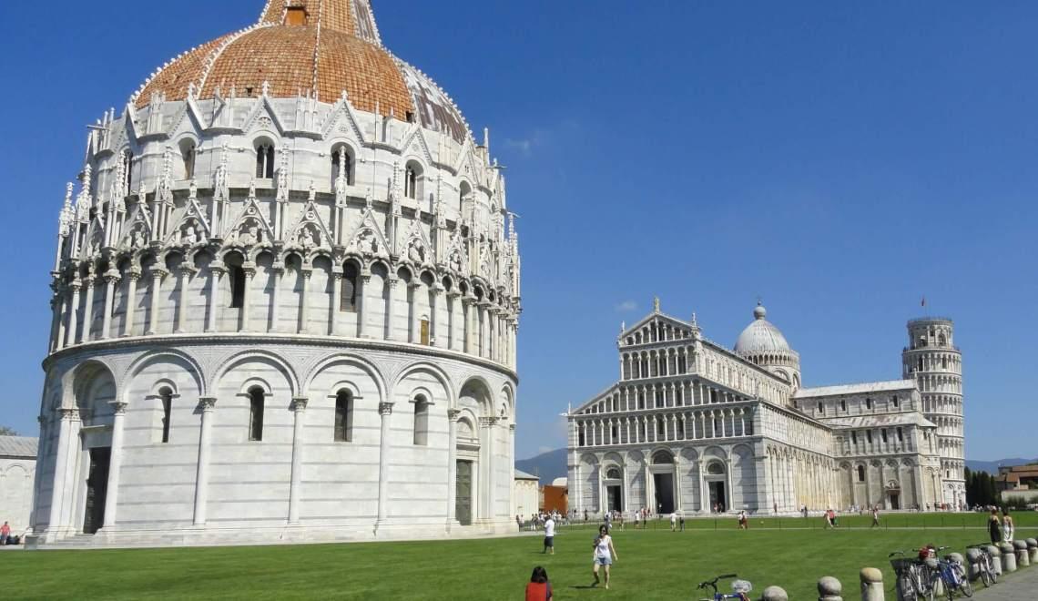 De wonderen van Pisa zijn de wereld nog niet uit
