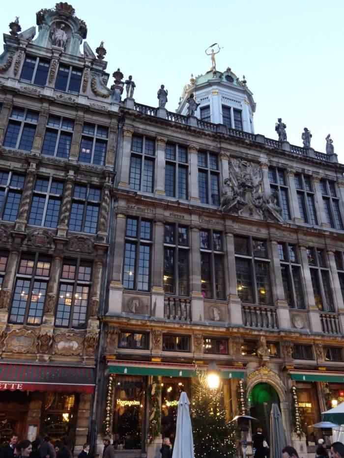 Gildehuizen op de Grote Markt Brussel