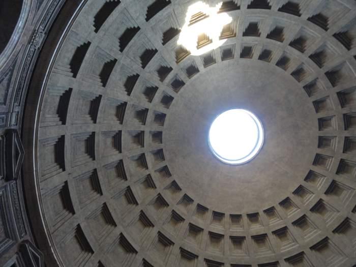 Betonpland Pantheon Rome