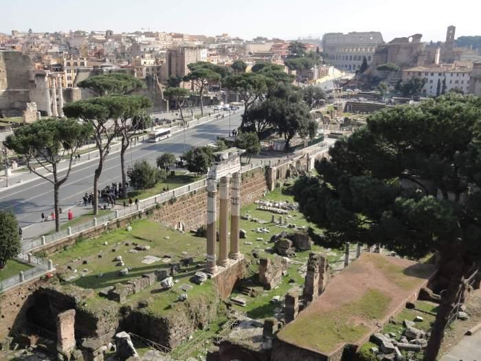 Romeinse ruïnes in Rome