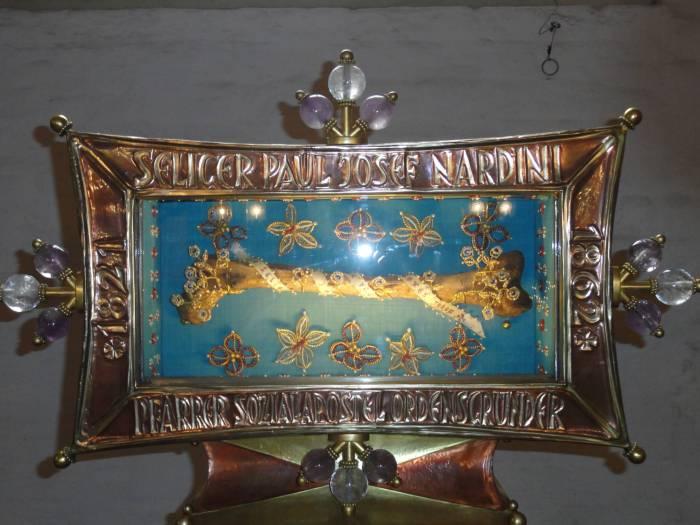 Heilig boontje in de kathedrala van Speyer