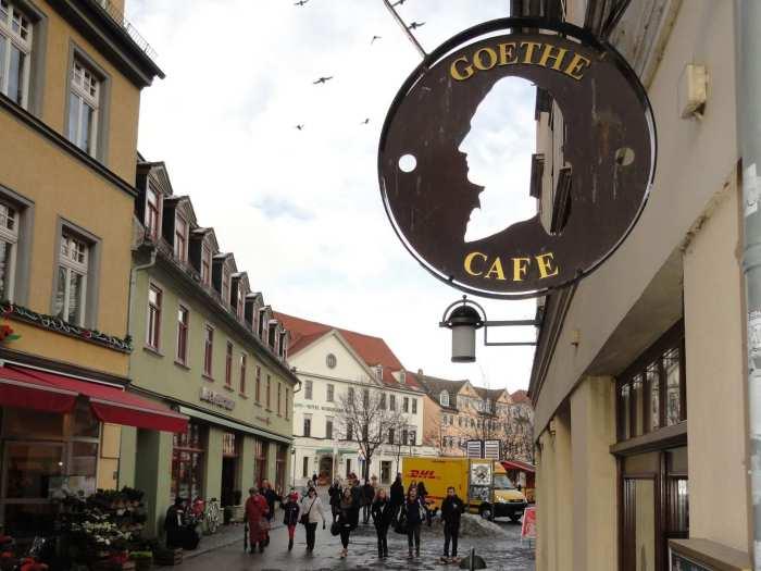 Goethe café, drinkgelag voor romantici