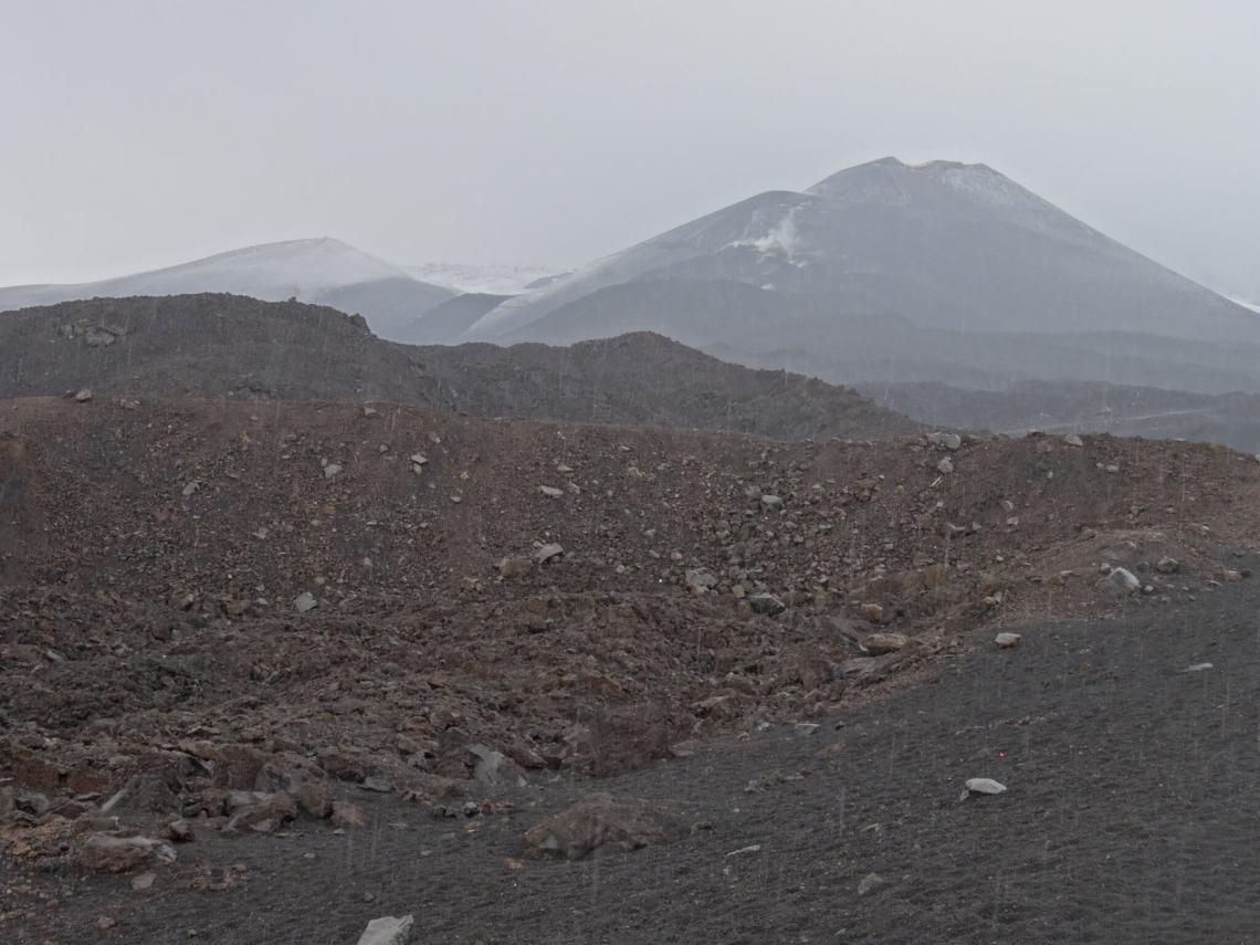 Top van de Etna