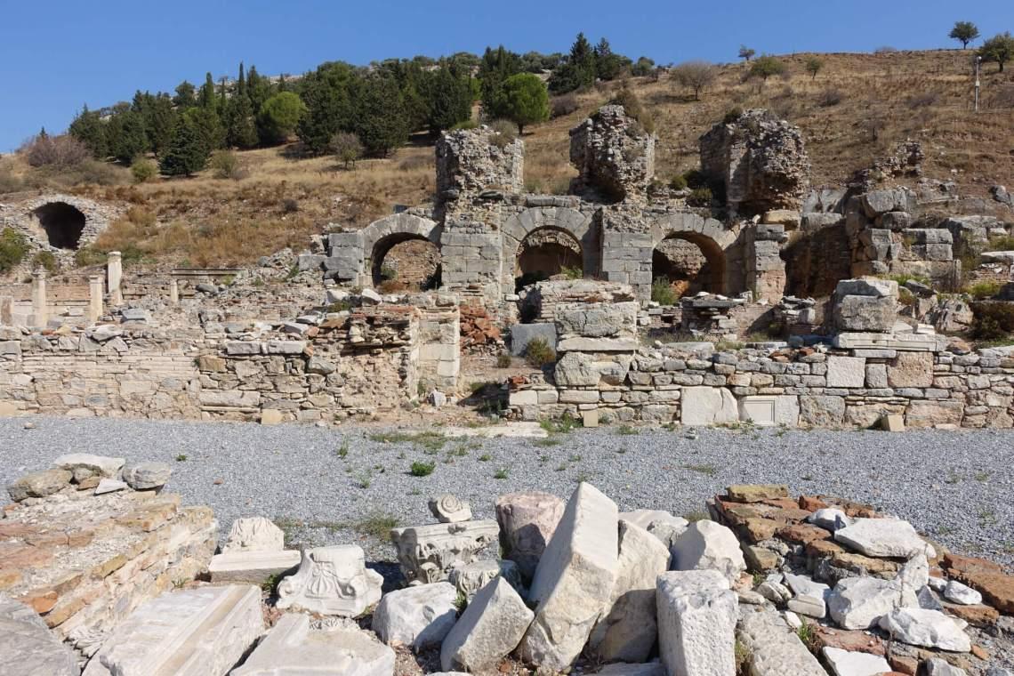 Ruïne van antieke badhuizen