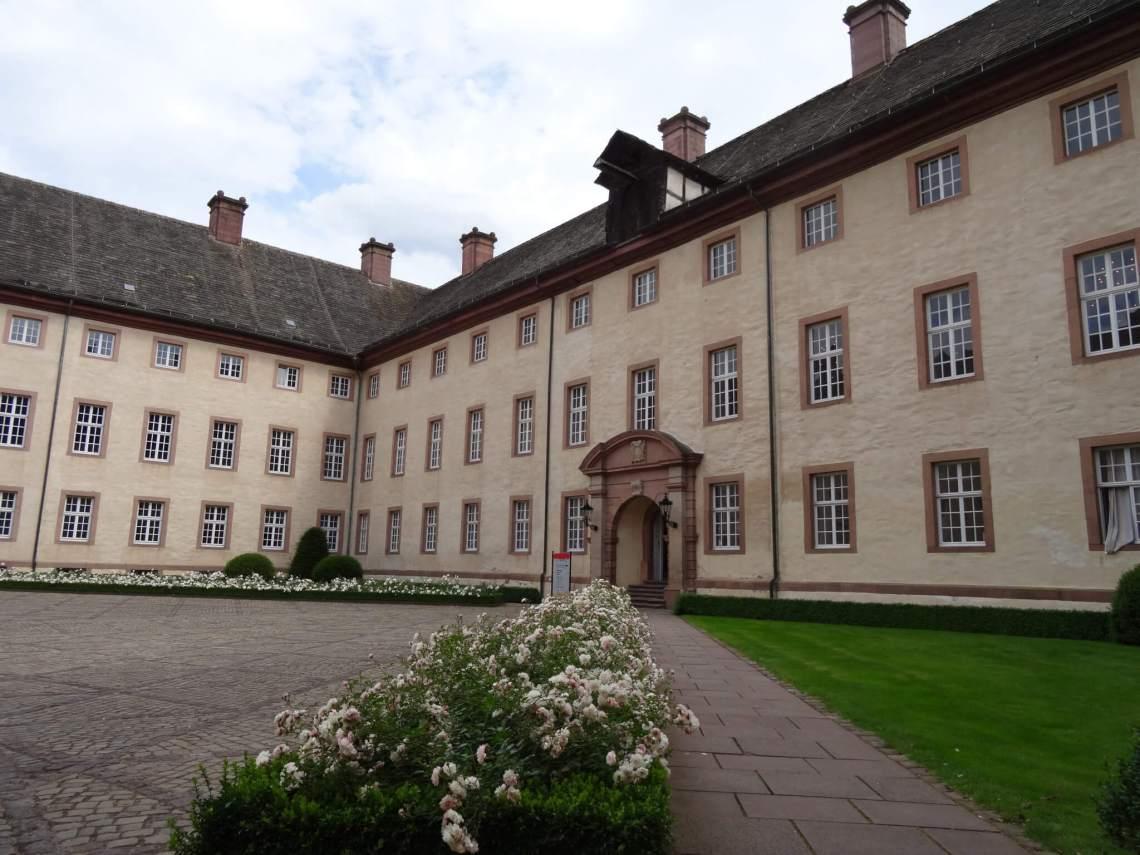 Binnenplaats klooster van Corvey