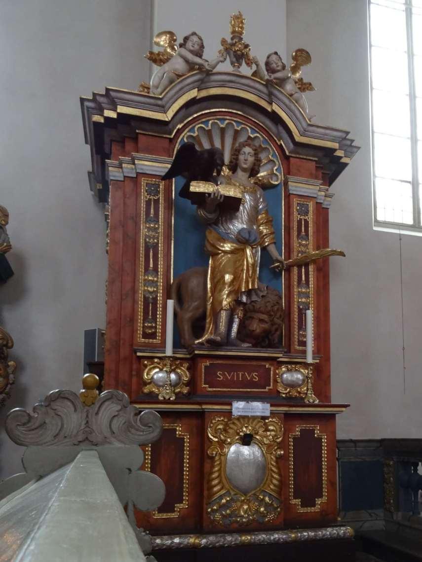 Monument van Sint Vitus in het klooster van Corvey