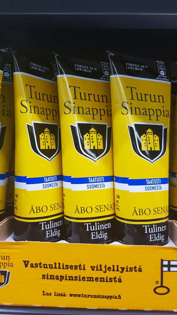 Moutarde finlandaise non traduite