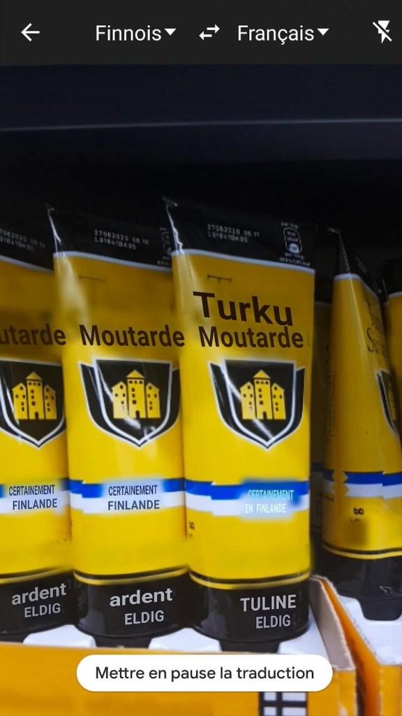 Moutarde finlandaise