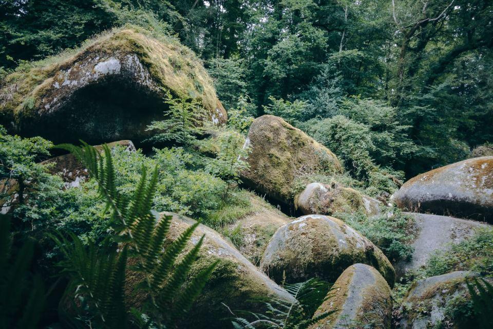 Le Ménage de la Vierge dans la forêt d'Huelgoat
