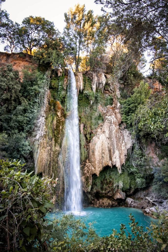 La grande cascade de Sillans