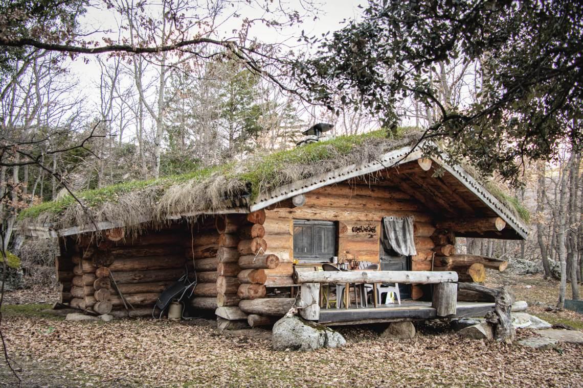 La Maison de Lucie, une cabane dans les bois