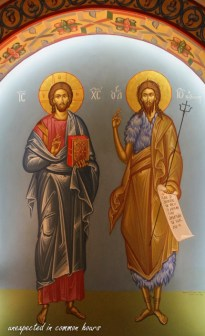 Jesus and John the Baptist