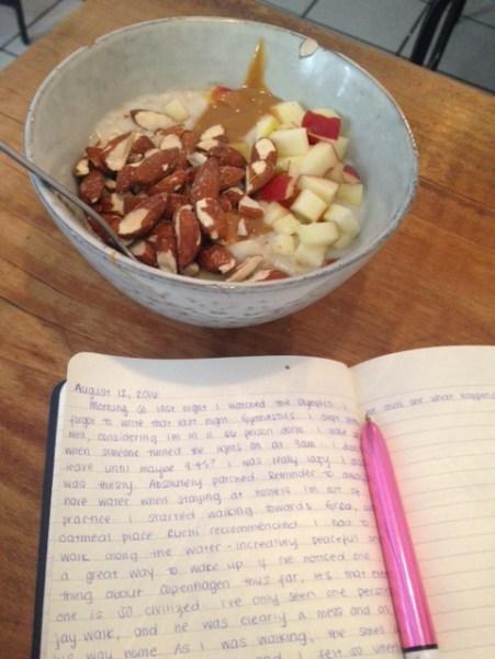 oats & writing