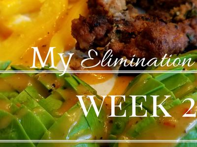 My Elimination Diet – Week 2