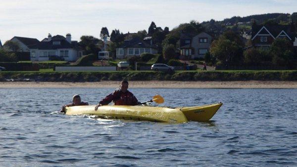 sea kayaking rescue