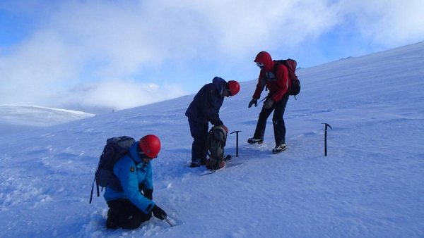 Fitting Crampons