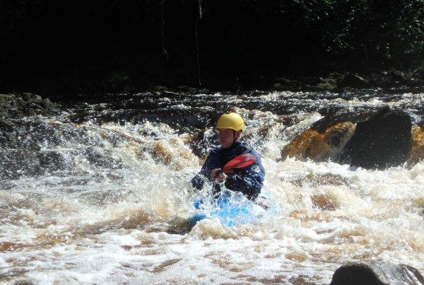 River kayaking assessment