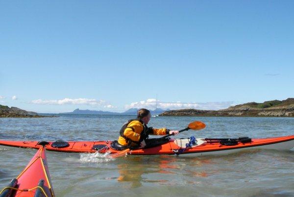 3 star sea kayak assessment scotland