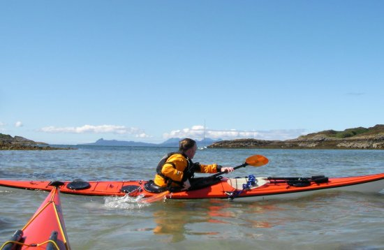 3 star sea kayak assessment scotland