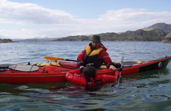 3 Star Sea Kayak Training Scotland
