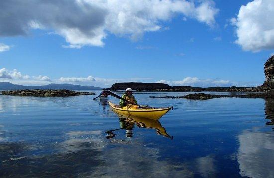 sea kayaking skye