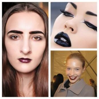 Dark lipstick = Ageing