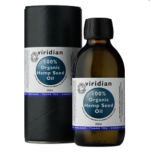 Viridian 100% Organic Hemp Oil