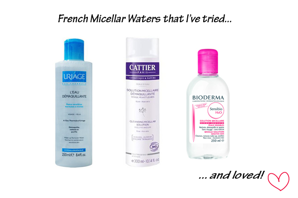 French Micellar Waters